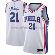 Camisetas Baloncesto NBA Philadelphia 76ers 2018  Joel Embiid 21# Association Edition..