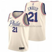 Camisetas Baloncesto NBA Philadelphia 76ers 2018  Joel Embiid 21# City Edition..