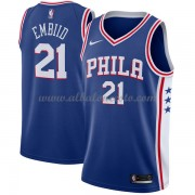 Camisetas Baloncesto NBA Philadelphia 76ers 2018  Joel Embiid 21# Icon Edition..