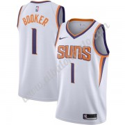 Camisetas Baloncesto NBA Phoenix Suns 2019-20 Devin Booker 1# Blanco Association Edition Swingman..