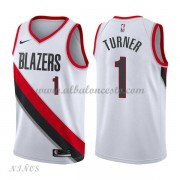 Camisetas Baloncesto Niños Portland Trail Blazers 2018 Evan Turner 1# Association Edition..