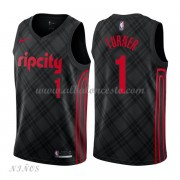 Camisetas Baloncesto Niños Portland Trail Blazers 2018 Evan Turner 1# City Edition..