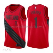 Camisetas Baloncesto Niños Portland Trail Blazers 2018 Evan Turner 1# Statement Edition..