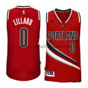 Camisetas Baloncesto NBA Portland Trail Blazers 2015-16 Damian Lillard 0# Alternate..