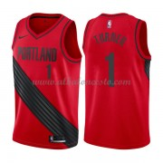 Camisetas Baloncesto NBA Portland Trail Blazers 2018  Evan Turner 1# Statement Edition..