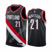 Camisetas Baloncesto NBA Portland Trail Blazers 2019-20 Hassan Whiteside 21# Negro Icon Edition Swin..