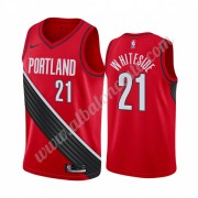 Camisetas Baloncesto NBA Portland Trail Blazers 2019-20 Hassan Whiteside 21# Rojo Statement Edition ..