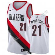 Camisetas Baloncesto NBA Portland Trail Blazers 2019-20 Hassan Whiteside 21# Blanco Association Edit..