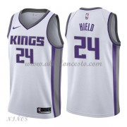 Camisetas Baloncesto Niños Sacramento Kings 2018 Buddy Hield 24# Association Edition..