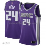Camisetas Baloncesto Niños Sacramento Kings 2018 Buddy Hield 24# Icon Edition..