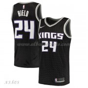Camisetas Baloncesto Niños Sacramento Kings 2018 Buddy Hield 24# Statement Edition..