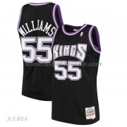Camisetas Baloncesto Niños Sacramento Kings Kids 2000-01 Jason Williams 55# Black Hardwood Classics..