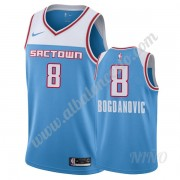 Camisetas NBA Niños Sacramento Kings 2019-20 Bogdan Bogdanovic 8# Azul City Edition Swingman..