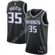 Camisetas NBA Niños Sacramento Kings 2019-20 Marvin Bagley III 35# Negro Statement Edition Swingman..