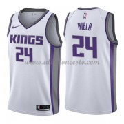 Camisetas Baloncesto NBA Sacramento Kings 2018  Buddy Hield 24# Association Edition..