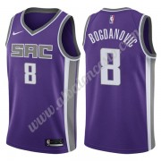 Camisetas Baloncesto NBA Sacramento Kings 2019-20 Bogdan Bogdanovic 8# Púrpura Icon Edition Swingman..