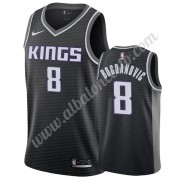 Camisetas Baloncesto NBA Sacramento Kings 2019-20 Bogdan Bogdanovic 8# Negro Statement Edition Swing..