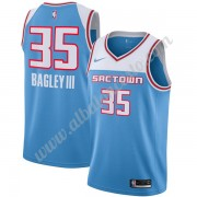 Camisetas Baloncesto NBA Sacramento Kings 2019-20 Marvin Bagley III 35# Azul City Edition Swingman..