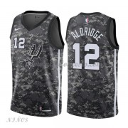 Camisetas Baloncesto Niños San Antonio Spurs 2018 LaMarcus Aldridge 12# City Edition..