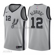 Camisetas Baloncesto Niños San Antonio Spurs 2018 LaMarcus Aldridge 12# Statement Edition..