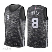 Camisetas Baloncesto Niños San Antonio Spurs 2018 Patty Mills 8# City Edition..