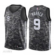 Camisetas Baloncesto Niños San Antonio Spurs 2018 Tony Parker 9# City Edition..