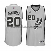 Camisetas Baloncesto NBA San Antonio Spurs 2015-16 Manu Ginobili 20# Alternate..