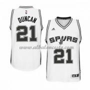 Camisetas Baloncesto NBA San Antonio Spurs 2015-16 Tim Duncan 21# Home..