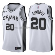 Camisetas Baloncesto NBA San Antonio Spurs 2018  Manu Ginobili 20# Association Edition..