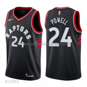 Camisetas Baloncesto Niños Toronto Raptors 2018 Norman Powell 24# Statement Edition..