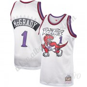 Camisetas NBA Niños Toronto Raptors 1998-99 Tracy McGrady 1# Platinum Hardwood Classics Swingman..