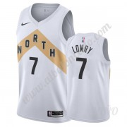 Camisetas NBA Niños Toronto Raptors 2019-20 Kyle Lowry 7# Blanco City Edition Swingman..