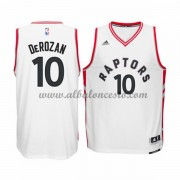 Camisetas Baloncesto NBA Toronto Raptors 2015-16 DeMar DeRozan 10# Home..