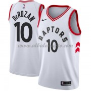 Camisetas Baloncesto NBA Toronto Raptors 2018  DeMar DeRozan 10# Association Edition..