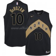 Camisetas Baloncesto NBA Toronto Raptors 2018  DeMar DeRozan 10# City Edition..