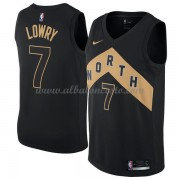 Camisetas Baloncesto NBA Toronto Raptors 2018  Kyle Lowry 7# City Edition..