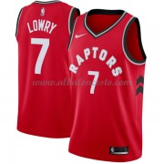 Camisetas Baloncesto NBA Toronto Raptors 2018  Kyle Lowry 7# Icon Edition..