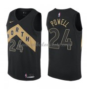 Camisetas Baloncesto NBA Toronto Raptors 2018  Norman Powell 24# City Edition..