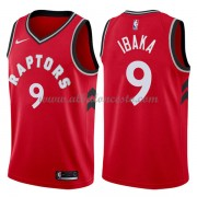 Camisetas Baloncesto NBA Toronto Raptors 2018  Serge Ibaka 9# Icon Edition..