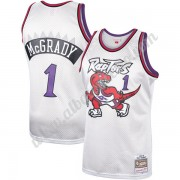 Camisetas Baloncesto NBA Toronto Raptors 1998-99 Tracy McGrady 1# Platinum Hardwood Classics Swingma..