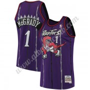 Camisetas Baloncesto NBA Toronto Raptors 1998-99 Tracy McGrady 1# Púrpura Hardwood Classics Swingman..