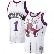 Camisetas Baloncesto NBA Toronto Raptors 1998-99 Tracy McGrady 1# Blanco Hardwood Classics Swingman..