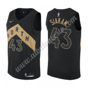 Camisetas Baloncesto NBA Toronto Raptors 2019-20 Pascal Siakam 43# Negro City Edition Swingman..