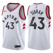 Camisetas Baloncesto NBA Toronto Raptors 2019-20 Pascal Siakam 43# Blanco Association Edition Swingm..