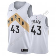 Camisetas Baloncesto NBA Toronto Raptors 2019-20 Pascal Siakam 43# Blanco City Edition Swingman..