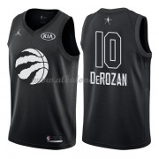 Toronto Raptors DeMar DeRozan 10# Black 2018 All Star Game Swingman Basketball Jersey..