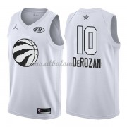Toronto Raptors DeMar DeRozan 10# White 2018 All Star Game Swingman Basketball Jersey..