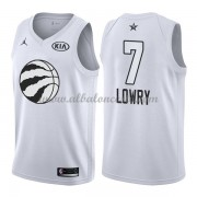 Toronto Raptors Kyle Lowry 7# White 2018 All Star Game Swingman Basketball Jersey..