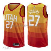 Camisetas Baloncesto Niños Utah Jazz 2018 Rudy Gobert 27# City Edition..