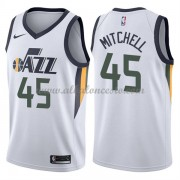 Camisetas Baloncesto NBA Utah Jazz 2018  Donovan Mitchell 45# Association Edition..